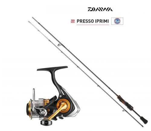 KP2671 - Kit Daiwa Trout Area Canna Iprimi 62L + Mulinello Iprimi 1003