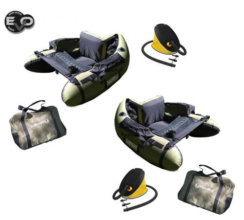 KP2672 - Due Belly Boat Evo Fishing Olive Bass Hunter