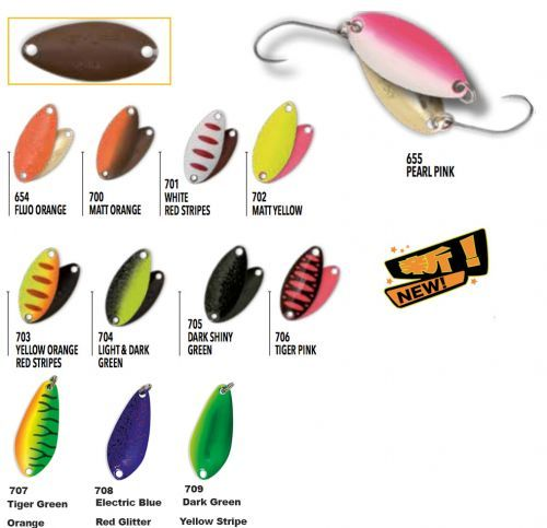 KP2916 - Kit Nomura 9 Spoon Pesca Trout Area Isei Sue 1,6 gr