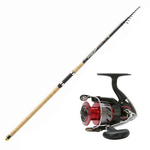 KP2979 - KP2979 Fishing Rod Tremarellla Lake Mitchell Supreme + Reel Daiwa 2500