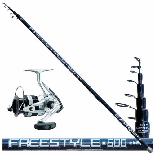 KP3070 - Kit Bolognese Canna Freestyle 7 mt + Mulinello Daiwa