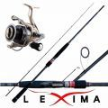 Kit Spinning Canna Lexima 251 Cm 7-21 Gr + Mulinello Nomura