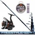 Kit Canna Freestyle Bolo 7 mt + mulinello filo trabucco spp