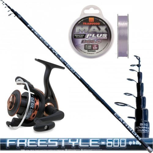 KP3092 - Kit Canna Freestyle Bolo 7 mt + mulinello filo trabucco