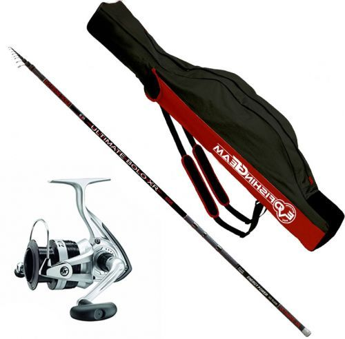 KP3118 - Kit Canna Evo Ultimate Bolo 6 mt + Mulinello Daiwa+ Fodero