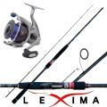 Kit Spinning Canna Lexima 251 + Mulinello Daiwa Freams 4000