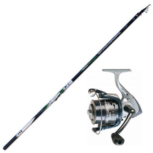 KP3409 Master Power Bolo caña de pescar 7 mt Carbon Trabucco reel