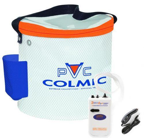KP3428 - Colmic Secchio Porta Vivo + Ossigenatore 2 vie