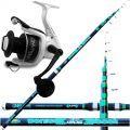 Canna pesca Bolentino Sonic Boat 300cm 120gr + Mulinello 7000