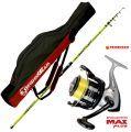 Canna pesca Surf Personal caster 420 + Mulinello Trabucco 6500 Fodero