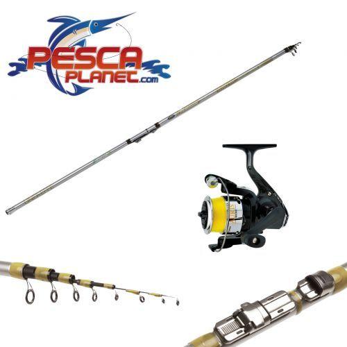 KP3618 - Kit Canna Pesca Tremarella Carbonio Mulinello Trabucco