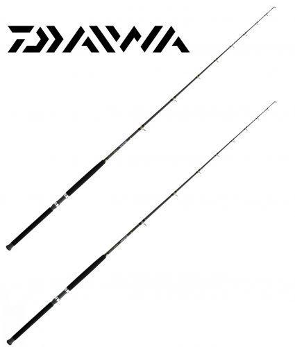 KP3688 - Daiwa 2 pz Canna Traina Daiwa Sealine 15 - 40 Lb