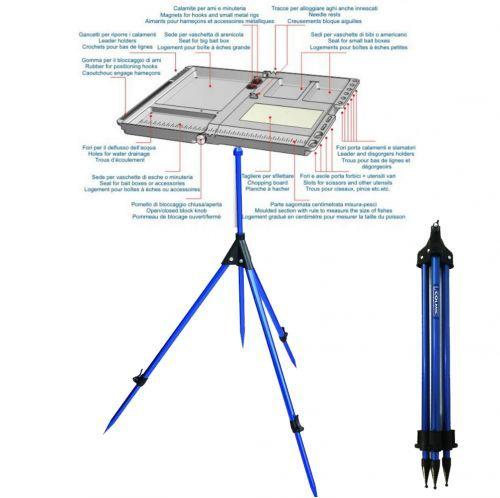 KP3742 - Colmic kit Rod Rest Tripode + Serbidora Stonfo