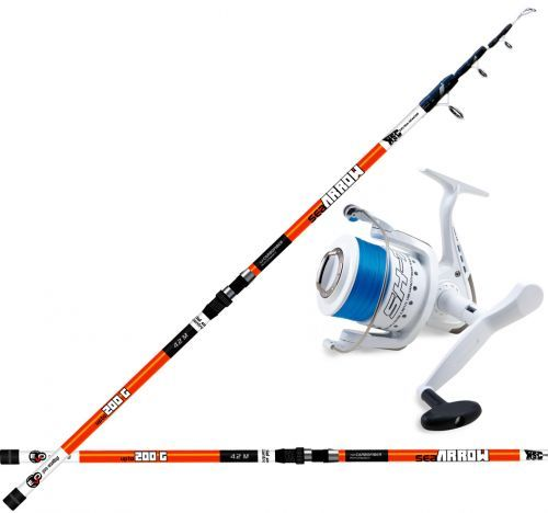 KP3886 - Evo Sea Arrow Canna Surfcasting 420 200 gr + Mulinello filo