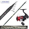 Colmic Fishing Rod Bolo Concord 4-5-6-7 Shimano Sienna 2000 Reel