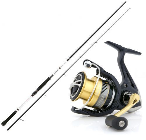 KP4263 - Canna spin Rapture Droid 2,13 m + Mulinello shimano nasci 2500