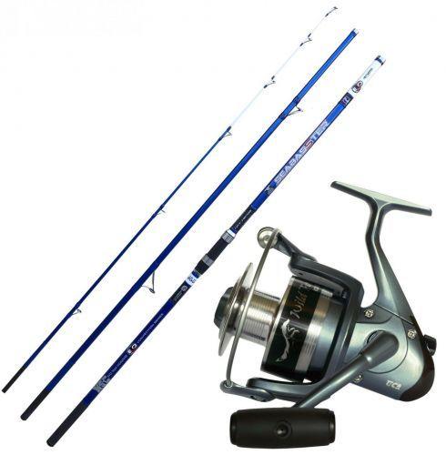 KP4268 - Evo Seabasster Canna pesca Surf 420 Fuji Mulinello Tica 6000