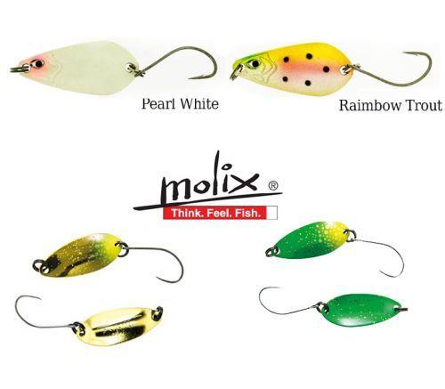 KP4326 - Molix kit 4 Spoon Molix Elite Area 0,8 Gr e TS 2,5 Trout Area