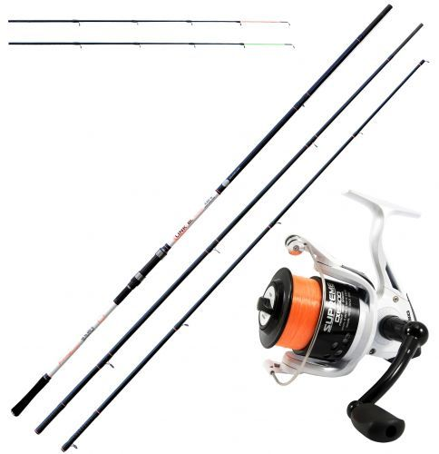 KP4331 - KP4331 Beach Ledgering Kit Canna Link Feeder SW Evo Supreme 5500 Reel