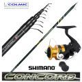 KP4428 Colmic Bolognese rod Concord 7 mt + Shimano 2500 reel