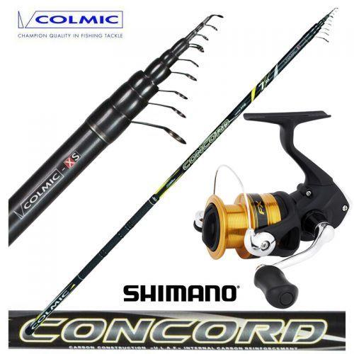 KP4428 - Colmic Canna Bolognese Concord 7 mt + Mulinello Shimano