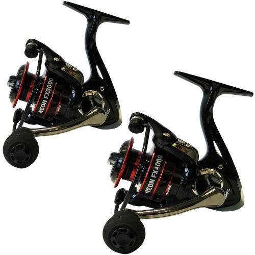 KP5051 - Due Mulinelli Evo Neon 3000+4000FX pesca 5+1 bb