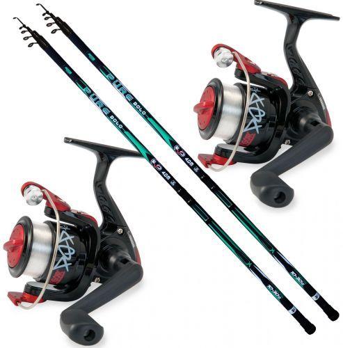 KP5101 - Evo 2 Canna pesca Bolo Pure 4 mt 2 Mulinello 2000 filo