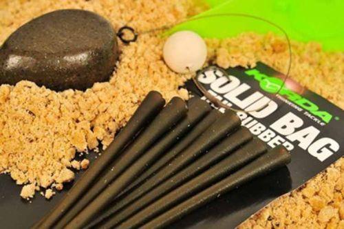 KPTR - KPTR Korda PVA Solid Bag Tail Rubber Silicone Cones Carpa de pesca