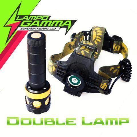 LG-DOU-LAMP - Evo Fishing Lampada Led Frontale Doppia
