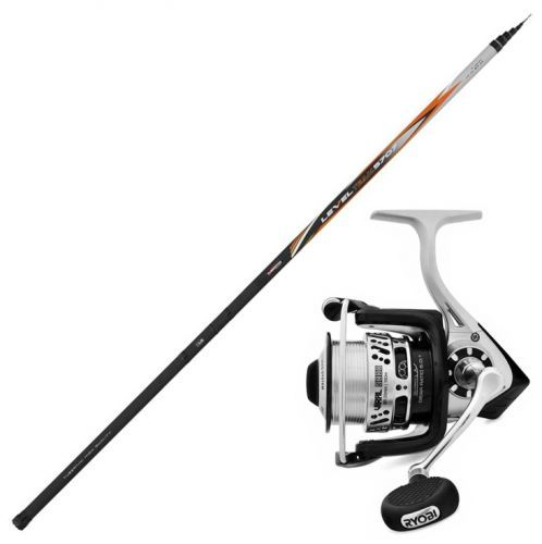 LT5700-VIRAL - Kit de pesca boloñesa Tubertini Level Team Rod 5700 Viral 3000 Reel