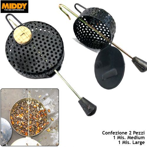 M1323 - Middy Pasturatori da fondo 2 pz feeder