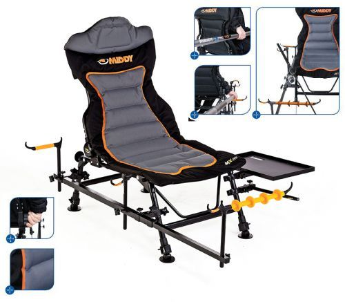 M20494 - Middy MX-100Chair Sedia pesca Feeder Completa