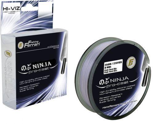 NINJA-GREY - Monofilo Surf Ninja Pro Cast 250 mt Grey
