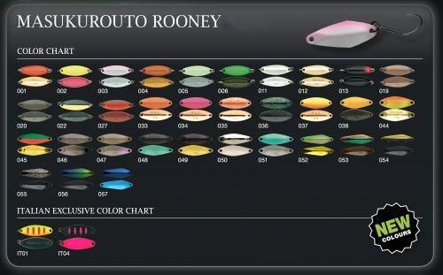 ROONEY22 - Nories Masukuroto Rooney  Spoon 2,2 gr