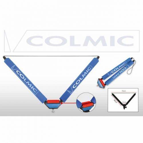RULC3 - Appoggia Canna Roller V 40 cm Red Small Roller