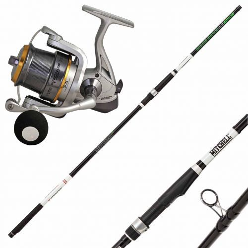 SENSO-KRONOS - Kit Beach Ledgering Canna Suprema 3.0 Mulinello Kronos SW 6000