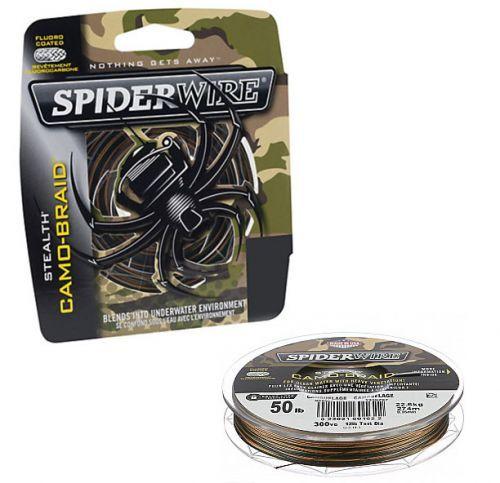STELTH-CAMO-270 - Trecciato Stealt Spider camo spin 270mt