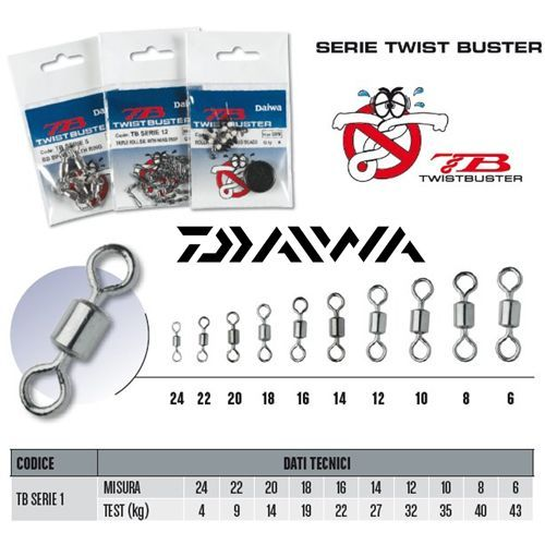 TBSERIE1 - Daiwa Girelle TB SERIES 1 Rolling fishing lake sea high quality and sealing