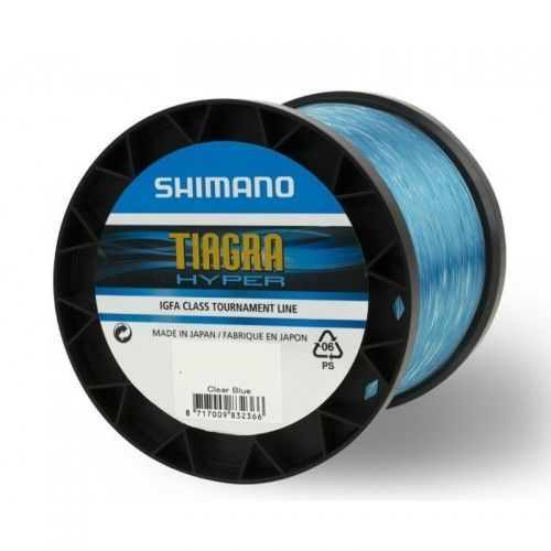 TIAGRA-IGFA - Shimano Tiagra Hyper Troll IGFA Nylon clear Blue 1000mt