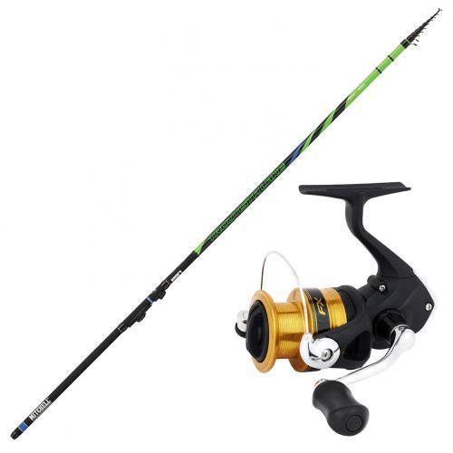 TROUTISTA-FX - Kit Pesca Trota Lago Canna Suprema 3.0 Troutista Mulinello FX 1000