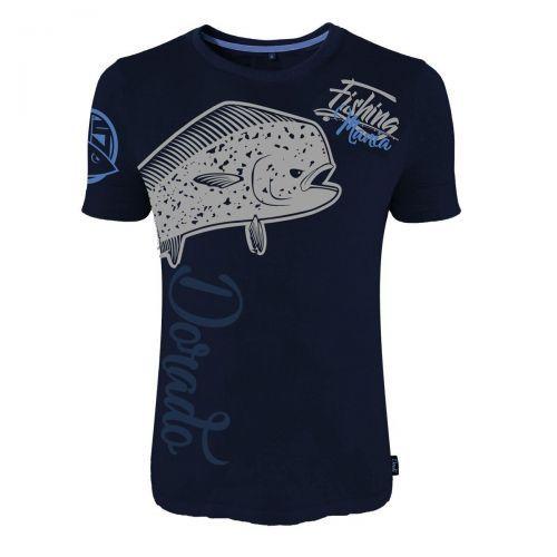 TS-0100010 - HotSpot T-shirt Fishing Mania Dorado