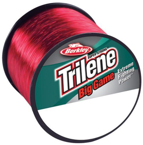 Trilene-red- - Monofilo Berkley trilene Big Game red