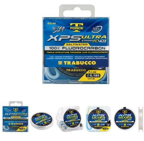 XPS-ULTRa - Trabucco XPS Ultra Invisible Thread Fluorocarbon 50mt x Saltwater terminals