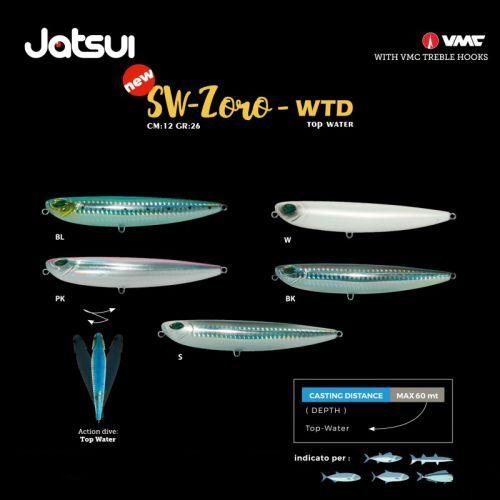 ZORO - Esca Artificiale Jatsui Wtd Zoro Top Water
