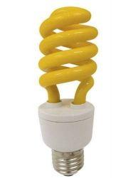Lampada basso consumo gialla anti zanzara 15 watt for Lampada antizanzare